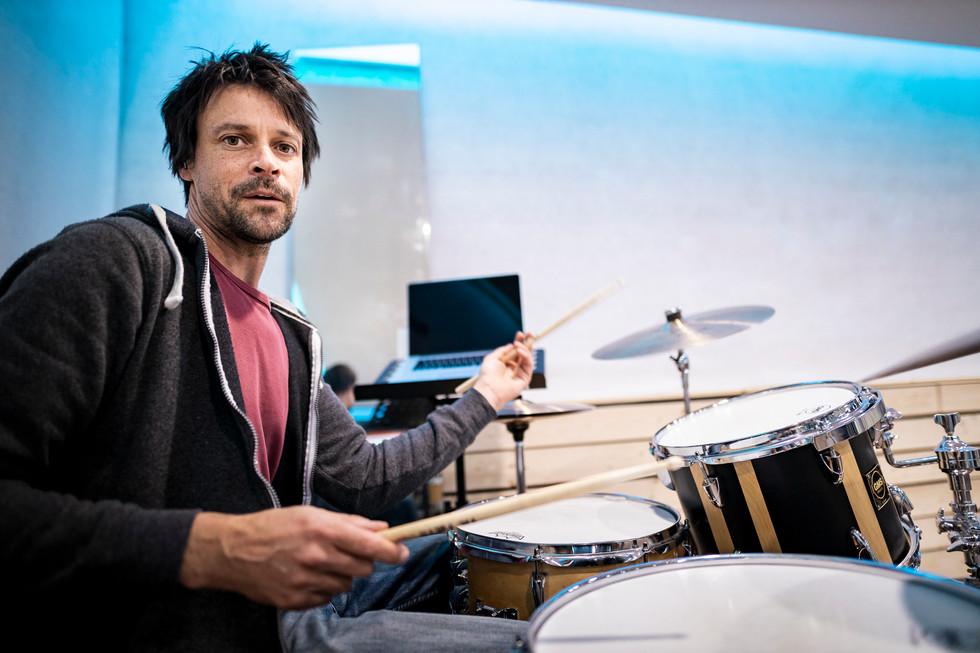 Roland im Studio
