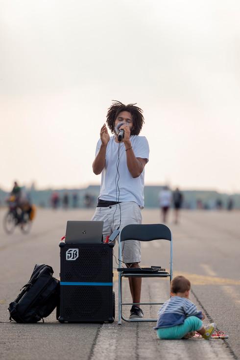 JayJules macht Musik in Berlin.