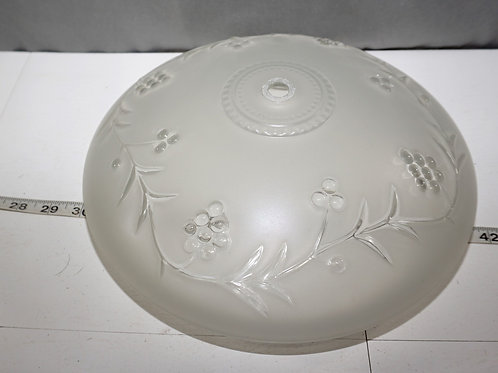 Art Deco Frosted Glass Shade