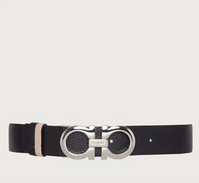 REVERSIBLE AND ADJUSTABLE GANCINI BELT-New Bisque and Black.png