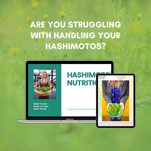 Hashimoto's Nutrition Webinar