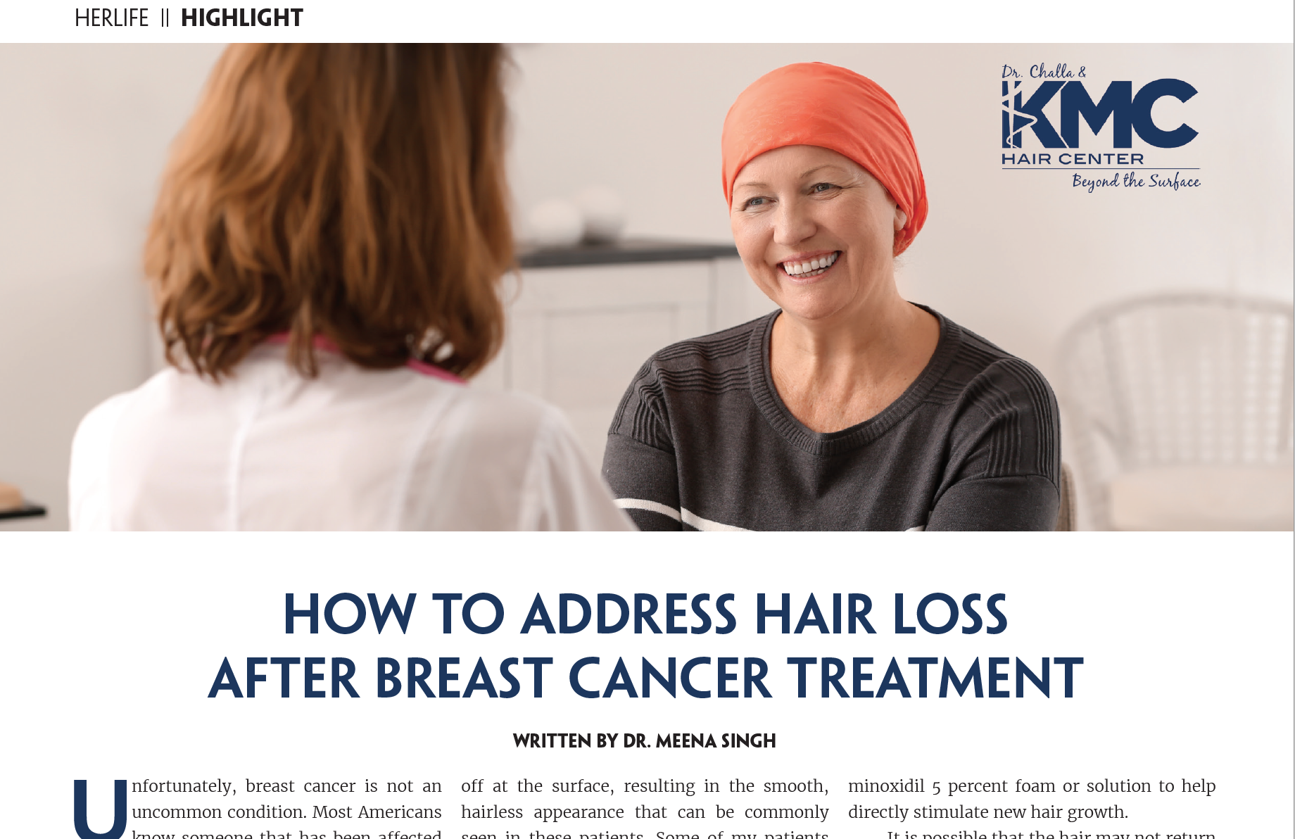 Hair Loss After Cancer