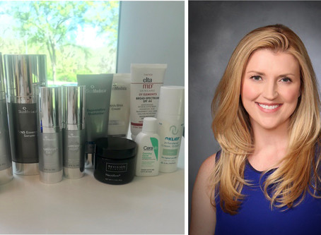 What do skincare specialists use on their skin?
