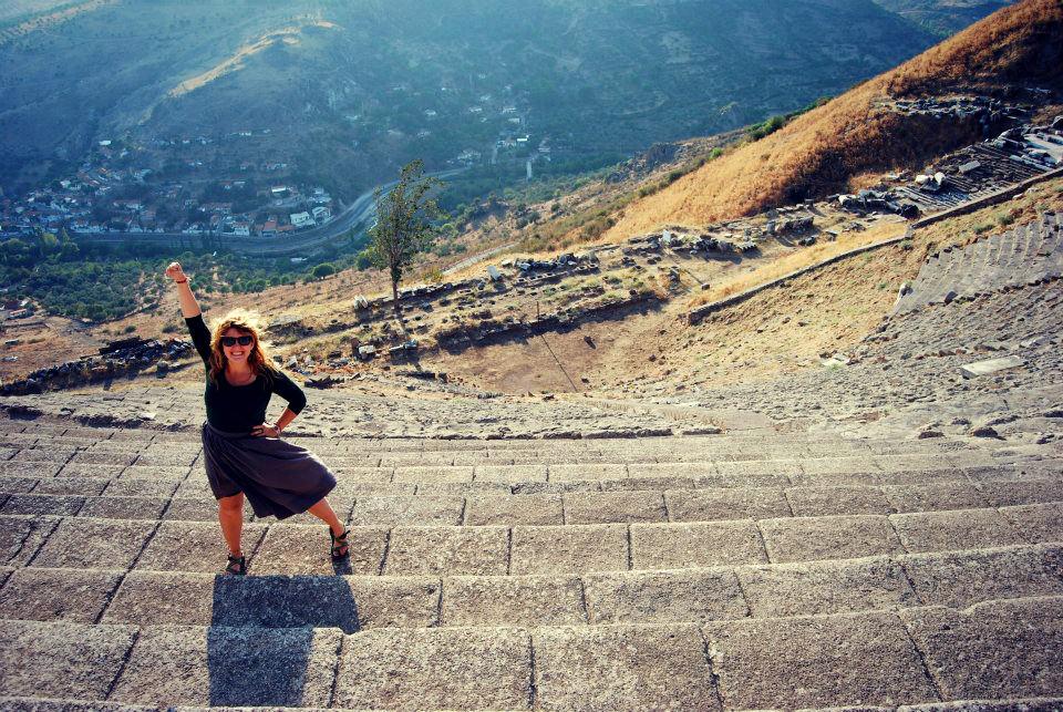 In Pergamon, Turkey.