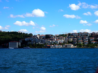 Photos: Crossing the Bosphorus