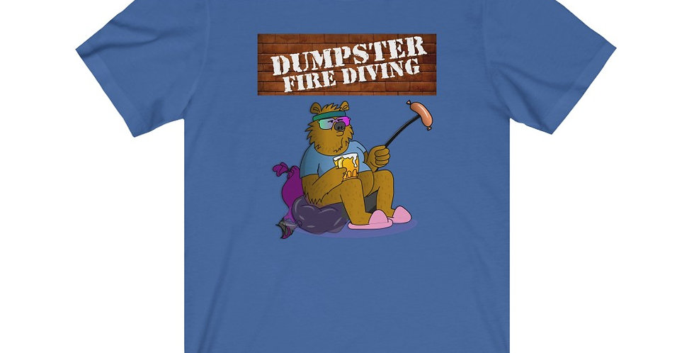Official Dumpster Fire Diving Podcast™ Unisex Tee 2