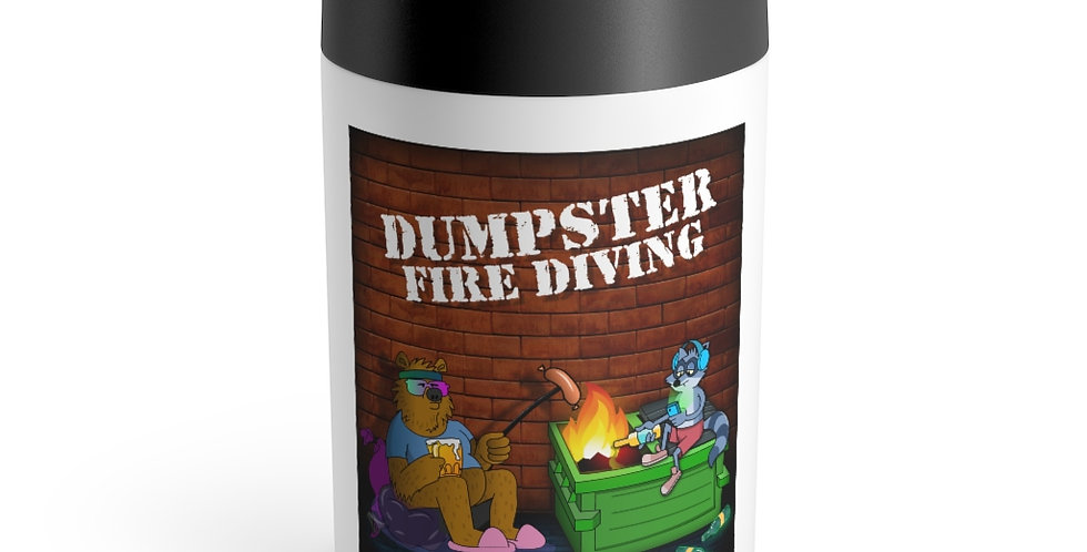 Official Dumpster Fire Diving Podcast™ Can Holder