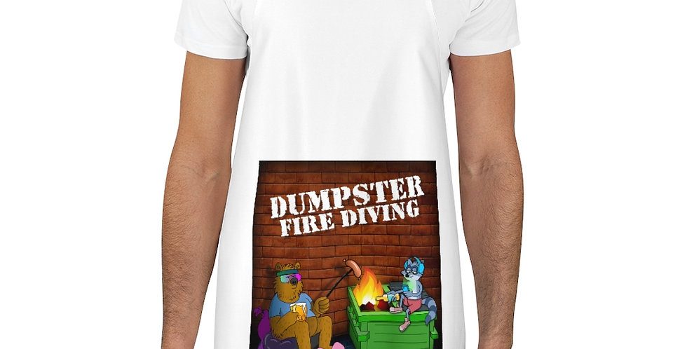 Official Dumpster Fire Diving Podcast™ Apron