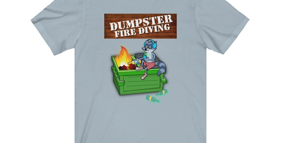 Copy of Official Dumpster Fire Diving Podcast™ Unisex Tee 3