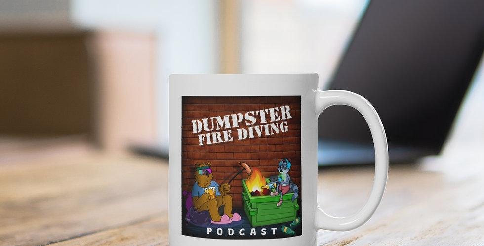 Official Dumpster Fire Diving Podcast™ Ceramic Mug