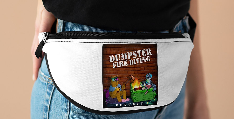 Official Dumpster Fire Diving Podcast™ Fanny Pack