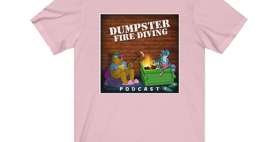 Official Dumpster Fire Diving Podcast™ Unisex Tee