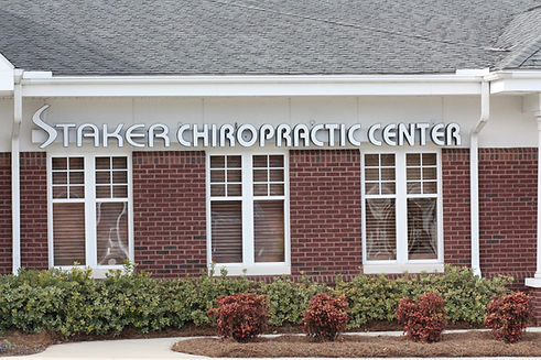Our office, Staker Chiropractic Center of Cary, NC.