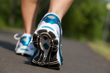 Walking Promotes Healing to Injured Muscles of the Feet