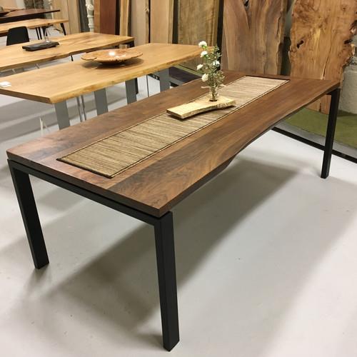 Furniture Stores United States Slab Art Wood Studio Dining - Wood slab conference table