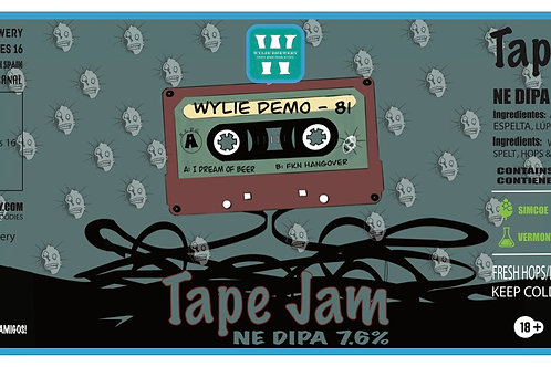 TAPE JAM (NE DIPA) 330ml 12 PACK
