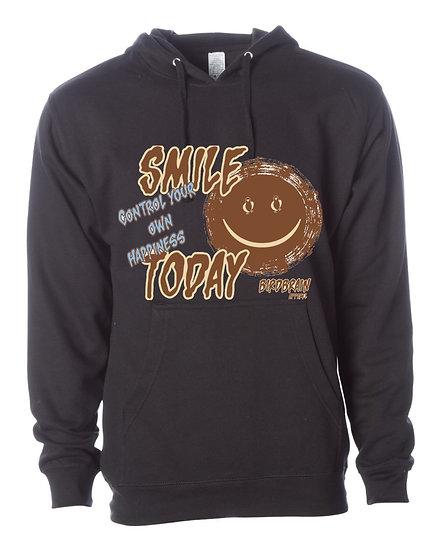 Smile Today Black Hoodie