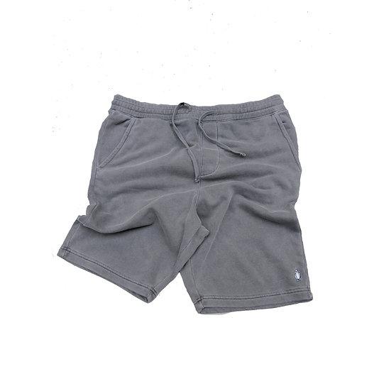 Black Pigment dyed shorts