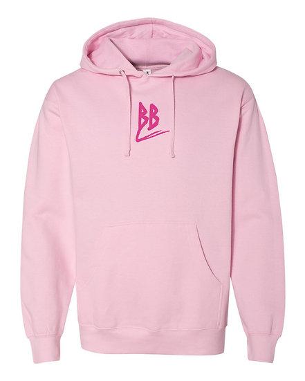 Double B Hoodie Pink