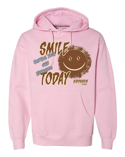 Smile Today Pink Hoodie