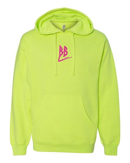 Double B Hoodie Neon Green