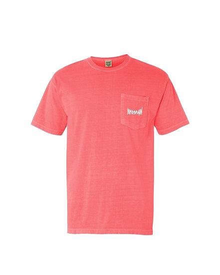 Orange Bird Pocket T-shirt