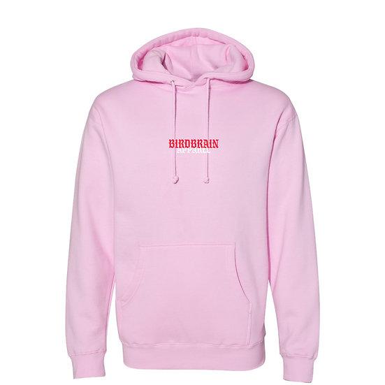 Flip Bird Pink Hoodie