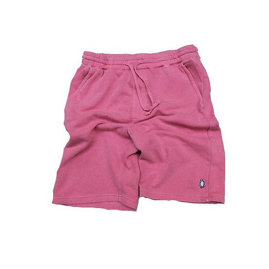 Pink pigment dyed shorts