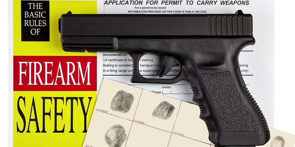 Basic Handgun & Safety Training - Nov. 28, 2020