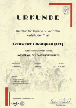 Deutscher Champion KfT