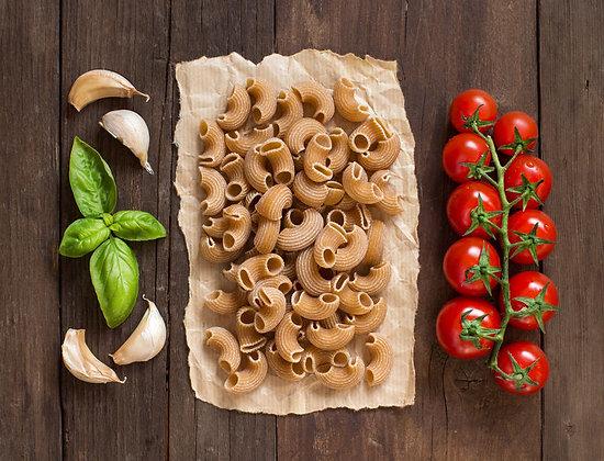 Volkoren pasta met mediterraanse kip