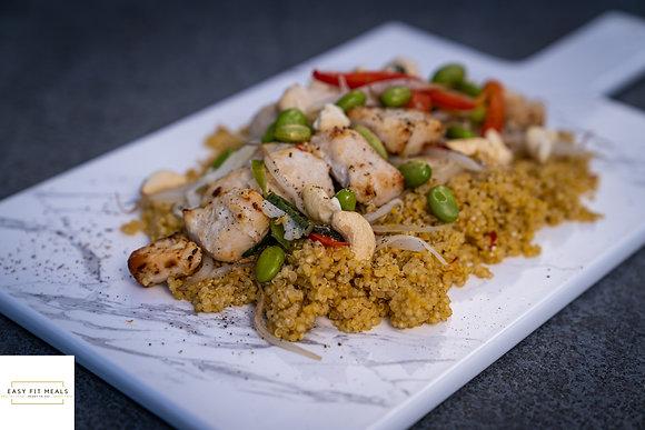 Thaise quinoa met kipfilet