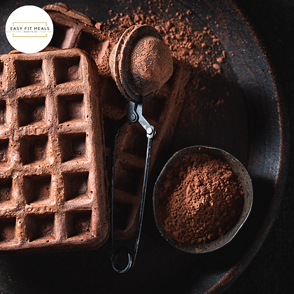 Cacao proteïne wafel
