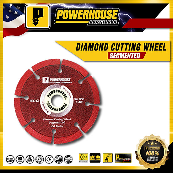 "Diamond Cutting Wheel Dry Type 4"""