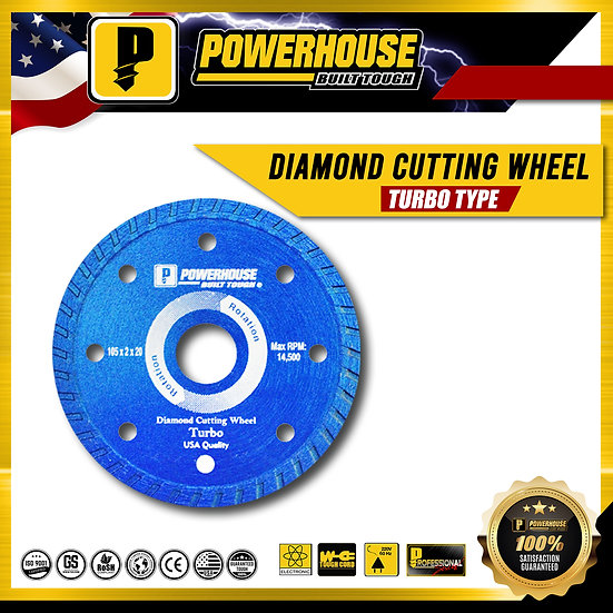 Diamond Cutting Wheel (Turbo Type)