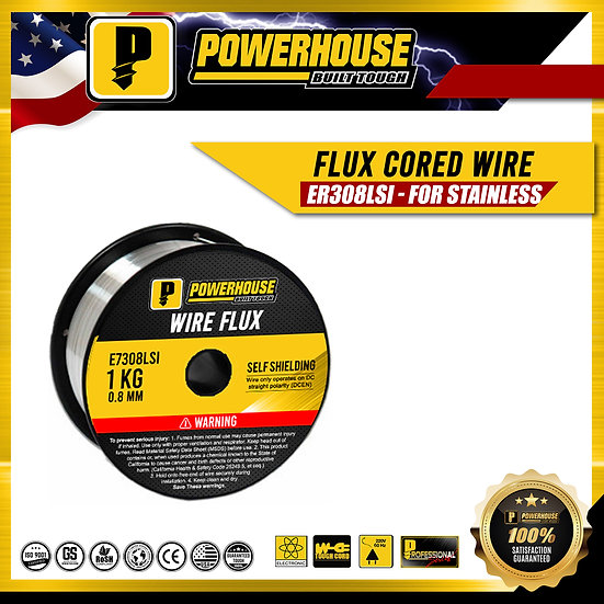 Flux Cored Wire ER308LS1 (For Stainless)