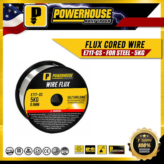 Flux Cored Wire E71T-GS (For Steel)