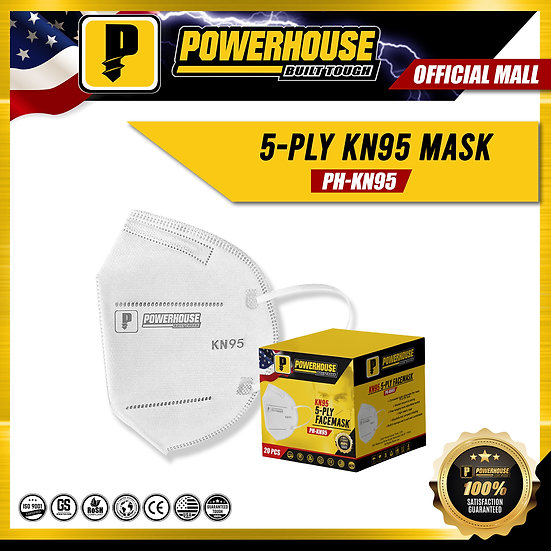 KN95 5-Ply Facemask