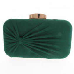 Green Suede Evening Bag.