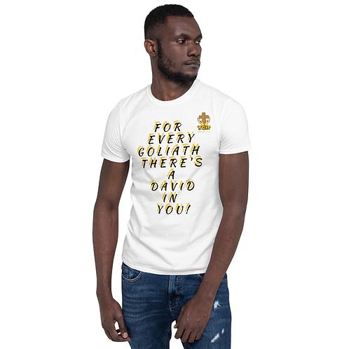 David (White Model 2) - Unisex T-Shirt