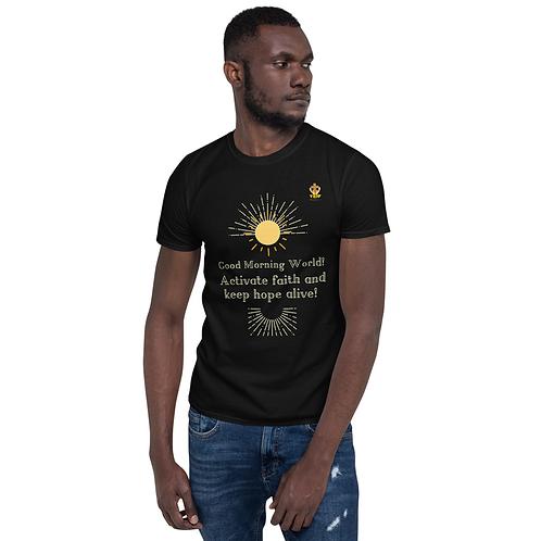 Unisex T-Shirt - Activate Faith -Black