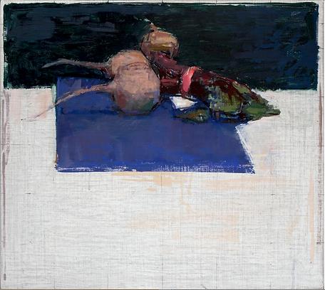 beetroot art painting