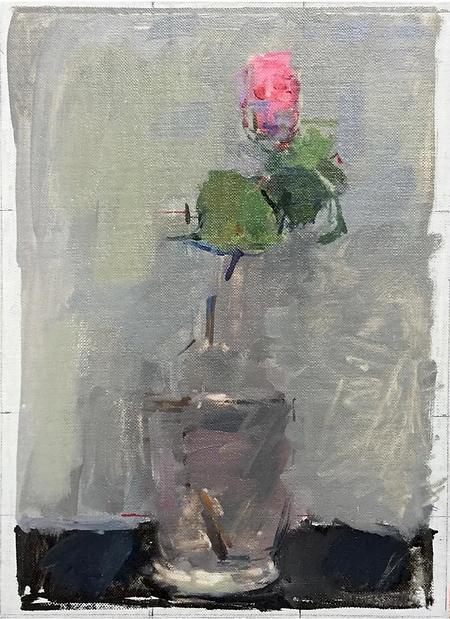 still life painting art flower