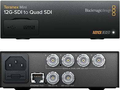 BMD Teranex Mini - 12G-SDI to Quad SDI