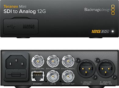 BMD Teranex Mini - SDI to Analog 12G