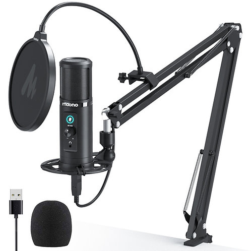 Maono USB Large Diaphragm Condenser Microphone AU-PM422