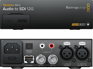BMD Teranex Mini - Audio to SDI 12G