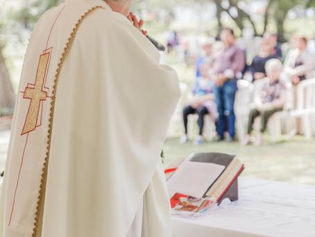 Vuelven las Misas de Jardín de la Paz