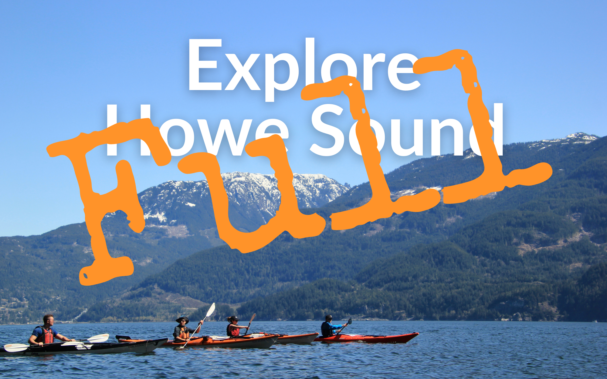 Explore Howe Sound by Kayak