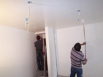 Mise en peinture des locaux auchan